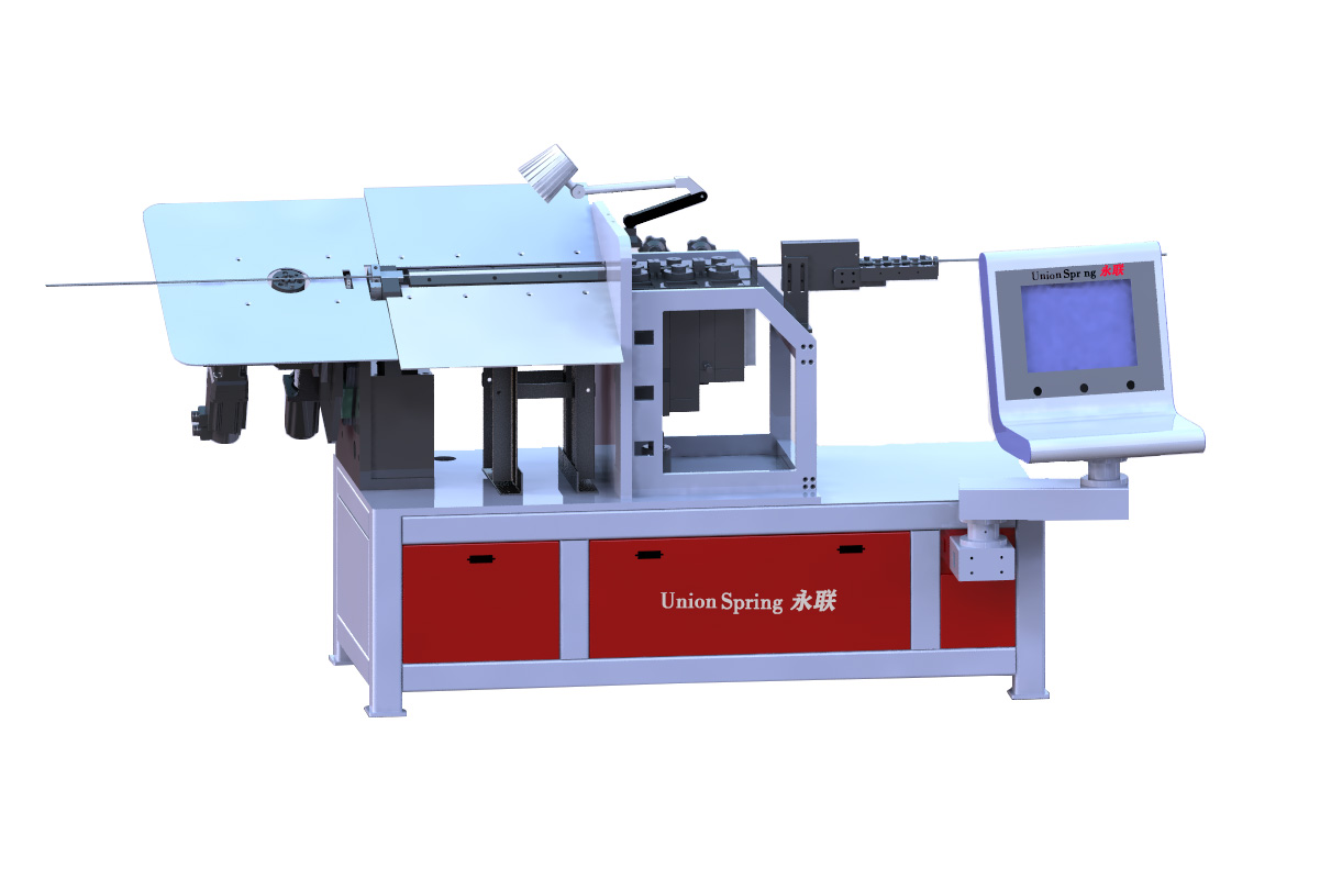 2D CNC Flat Wire Bending Machine
