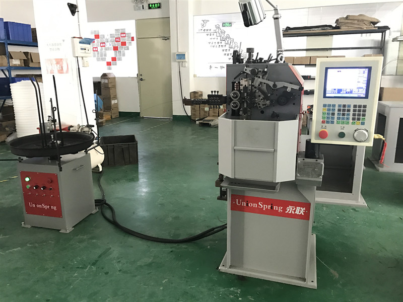 2-Axis Spring Coiling Machine